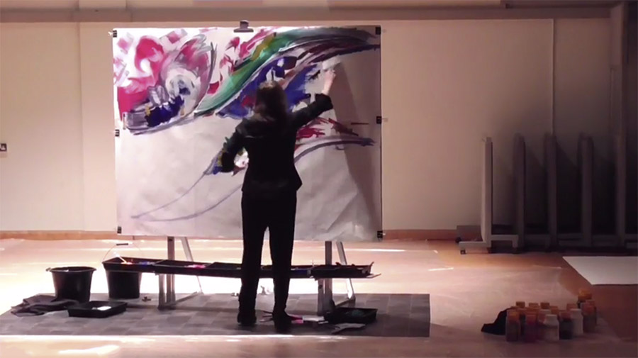Musicpainting Performance